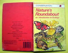 Nature's Roundabout An Introduction To Ecology Ladybird vintage book forest tree
