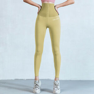Women Fitness Stretchy Sports Leggings High Waist Compression Tights Sportswear