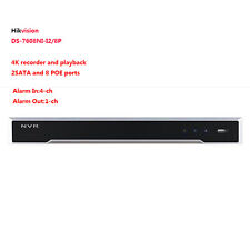 Hikvision DS-7608NI-I2/8P 4K UHD H.265 8CH Embedded Plug&Play NVR 2SATA 8POE