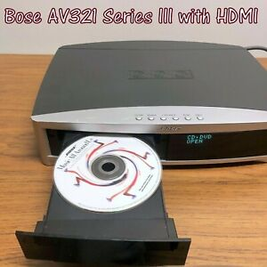 ♫ Bose 321 AV 3-2-1 Series III Media Center w/ HDMI, Tested, Great Condition