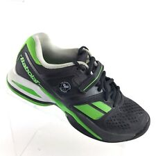 Babolat Propulse BPM Wimbledon Tennis Black Green Sneaker Mens Shoe SIZE 7