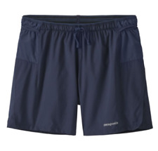 "Patagonia Men's Strider Pro Running Shorts 5"" Classic Navy Large (L) - NEW"