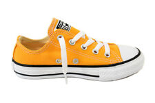 Converse Youth CT All Star 351178C Sneakers Solar Orange Size UK1 RRP £35 BCF712