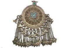 antike orient nomaden schmuck Silber  Anhänger aus afghanistan Brustschmuck No-9