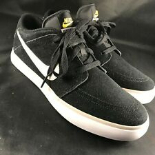 save off 862fc 3f895 NEW NIKE SB SUKETO 2 Skateboarding LOW Black Suede Sample Promo Mens size 9  US
