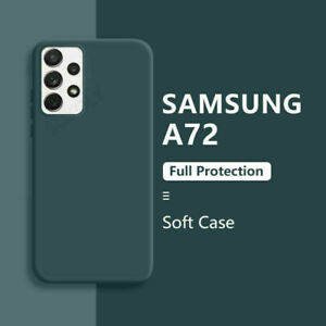 Case For Samsung A52 A32 A72 5G S21 S20 FE Shockproof Liquid Silicone Soft Cover