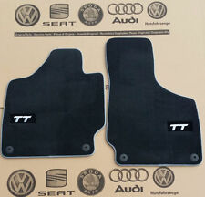 Audi TT 8J  original floor mats fabric mats velours mats carpet mats 06-14