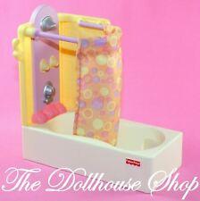 Fisher Price Loving Family Dollhouse Bathroom Bath tub Shower Bathtub