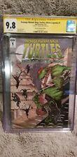 🔥Teenage mutant ninja turtles 1🔥 cgc 9.8 signed Edward Kraatz 💥1/1000💥