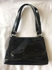 RUSSELL & BROMLEY Black Patent Bag