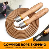 Wooden Adjustable Fast Speed Jump Rope Skip Exercise Training Sport Skipping Kit