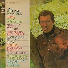 Andy Williams Born Free LP Album