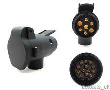 Electrics Converter Adapter 7 Pin Towbar Plug To 13 Pin Trailer Caravan Socket