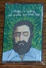 Iron & Wine OUR ENDLESS NUMBERED DAYS Sub Pop NEW SEALED WHITE CASSETTE TAPE