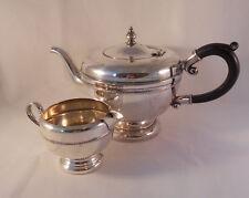 Vintage 1920's Essay? E.P. Copper Silver-Plate Teapot & Creamer Made in Canada