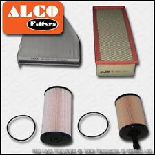 SERVICE KIT AUDI A3 (8P) 2.0 TDI 16V ALCO OIL AIR FUEL CABIN FILTERS (2005-2012)
