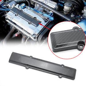 HONDA B18 B16 B SERIES VTEC ABS CARBON FIBER LOOK VALVE COVER SPARK PLUG INSERT