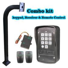 Heddolf Gate Openers Keypad 318Mhz, Receiver, Remote Control & Goose-neck