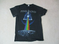 Pink Floyd Concert Shirt Adult Small Black Dark Side Of The Moon Rocker Band *