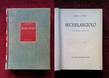 MICHELANGIOLO De Tolnay DEL TURCO EDITORE 1951