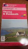 Thurso & Dunbeath: Landranger 11: Ordnance Survey Map