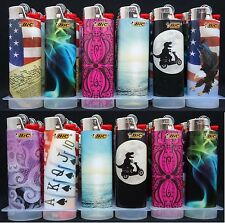 Lot 60 Bic Regular Size Disposable Lighters With Variety Designs (Pls See Note)