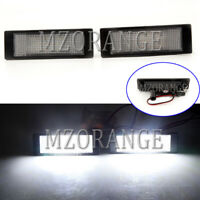 2X LED License Number Plate Light Lamps For BMW E81 E87 E89 F20 F21 I3 6 Series