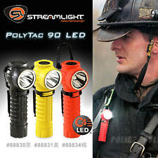 Orange Black Yellow Firefighter Fireman Right Angle Rescue Search LED Flashlight