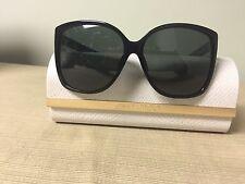 Brand New Jimmy Choo Carly Sunglasses 29A R6 Shiny Black/Gray