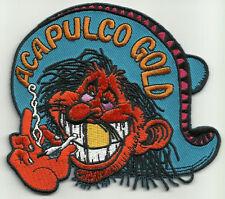 ACAPULCO GOLD MR RED EYES ROCKABILLY MOTORCYCLE JACKET VEST MORALE BIKER PATCH