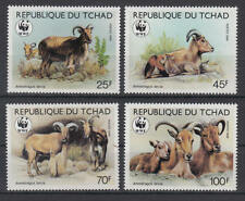 Tschad - Michel-Nr. 1171-1174 postfrisch/** (WWF Mähnenspringer)
