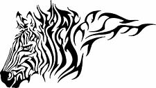 Zebra Tribal Horse Animal Car Truck Wall Laptop Vinyl Decal Sticker