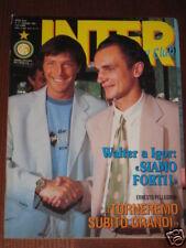 INTER FOOTBALL CLUB 1992/6 BECCALOSSI ALTOBELLI ZENGA @