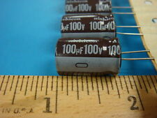 (5) 100uF 100V 105°C UPR2A101MHH1TO RADIAL ELECTROLYTIC CAPACITOR USA SELLER