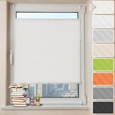 Plissee Klemmfix Faltrollo Jalousie ohne Bohren Sonnenschutz Fenster Tür Easyfix