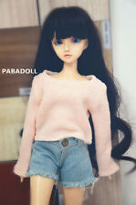 Casual Pink Sweater for BJD Doll 1/6 1/4,1/3 DD SD16 IP EID Doll clothes CWB74