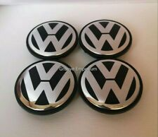 4 x 65mm Centre Wheel Caps 3b7601171 Golf Passat Jetta Sharan Touran other