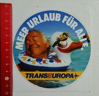 Aufkleber/Sticker: Trans Europa (08041621)