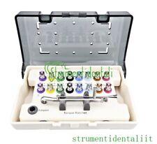 Chiave dinamometrica per impianto dentale a cricchetto kit kit di cacciaviti CE