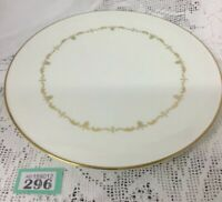 "Royal Worcester - Gold Chantilly - Round Cake Gateaux Plate 11"" VGC"
