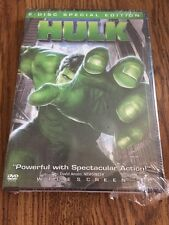 HULK SPECIAL EDITION ERIC BANA JENNIFER CONNELLY NEW DVD
