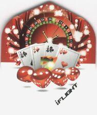 """Let It Ride"" Dart Flights: 3 per set"