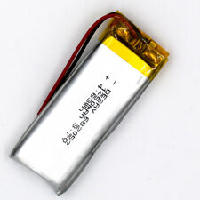 3.7V 1250mAh Li-Polymer Rechargeable Battery LiPo Cell Li-ion for GPS MP3 682052