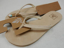 REEF WOMENS SANDALS REEF DOWNTOWN TRUSS NATURAL SIZE 8