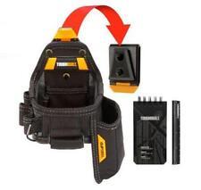 Toughbuilt Tape Measure w/ Black Utility Knife Pouch Tool Storage Compartment