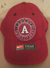 3cbd18f8ee900 New ListingArkansas Razorbacks Nike Swoosh Flex Hat (Red) (New)