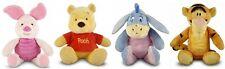 ~❤️~WINNIE THE POOH BEAR EEYORE PIGLET TIGGER baby soft toy rattle 23-30cms~❤️~