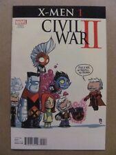 Civil War II X-Men #1 Marvel 2016 Series Skottie Young Variant 9.6 Near Mint+