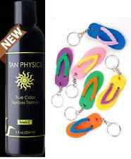 Tan Physics True Color Sunless Self Tanner Sun Less Tanning Lotion w/ KEY CHAIN!
