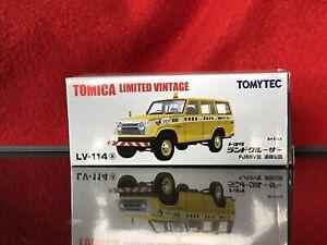 LV-114a Tomica Limited Vintage - Toyota Landcruiser FJ56V